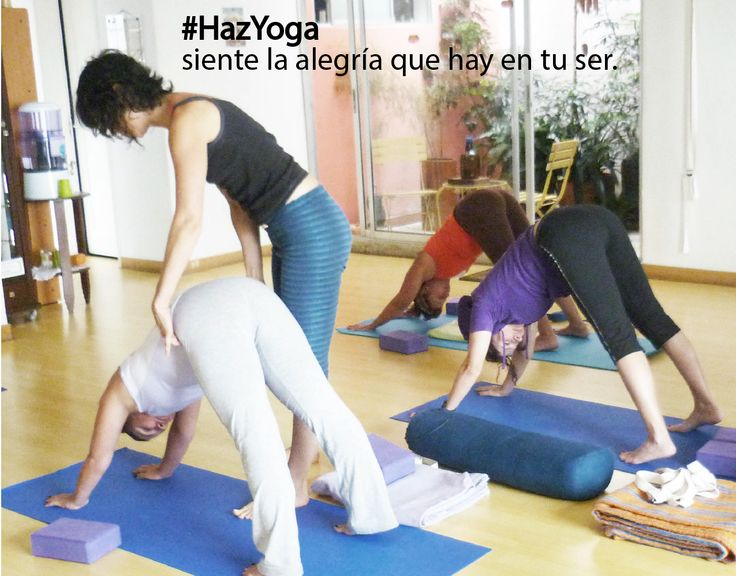 #Hazyoga y siente la alegría de tu ser.