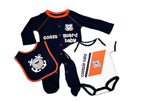 USCG Baby 3Pc US Coast Guard Outfit 36 Mo Navy * To view further for this item, visit the image link.