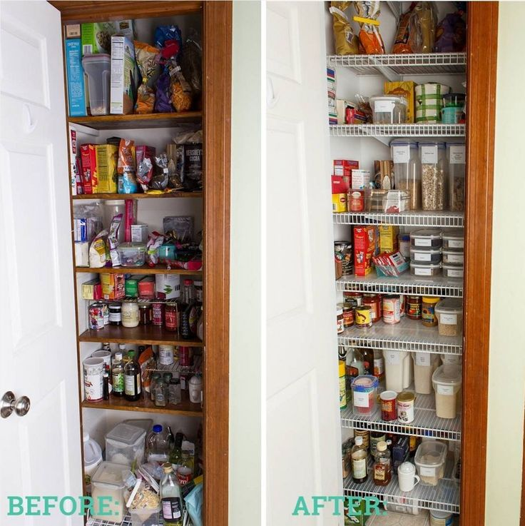 Attractive Before U0026 After   Pantry Closet. #ClosetMaid