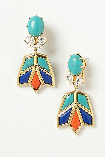 Aswan earrings @Vickie Thomson