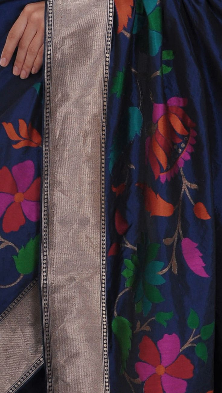 Design Jewel Tones 96 best jewel tones images on pinterest hands and midnight blue meenakari zari hand woven banarasi pure silk saree sareesjewel toneshand