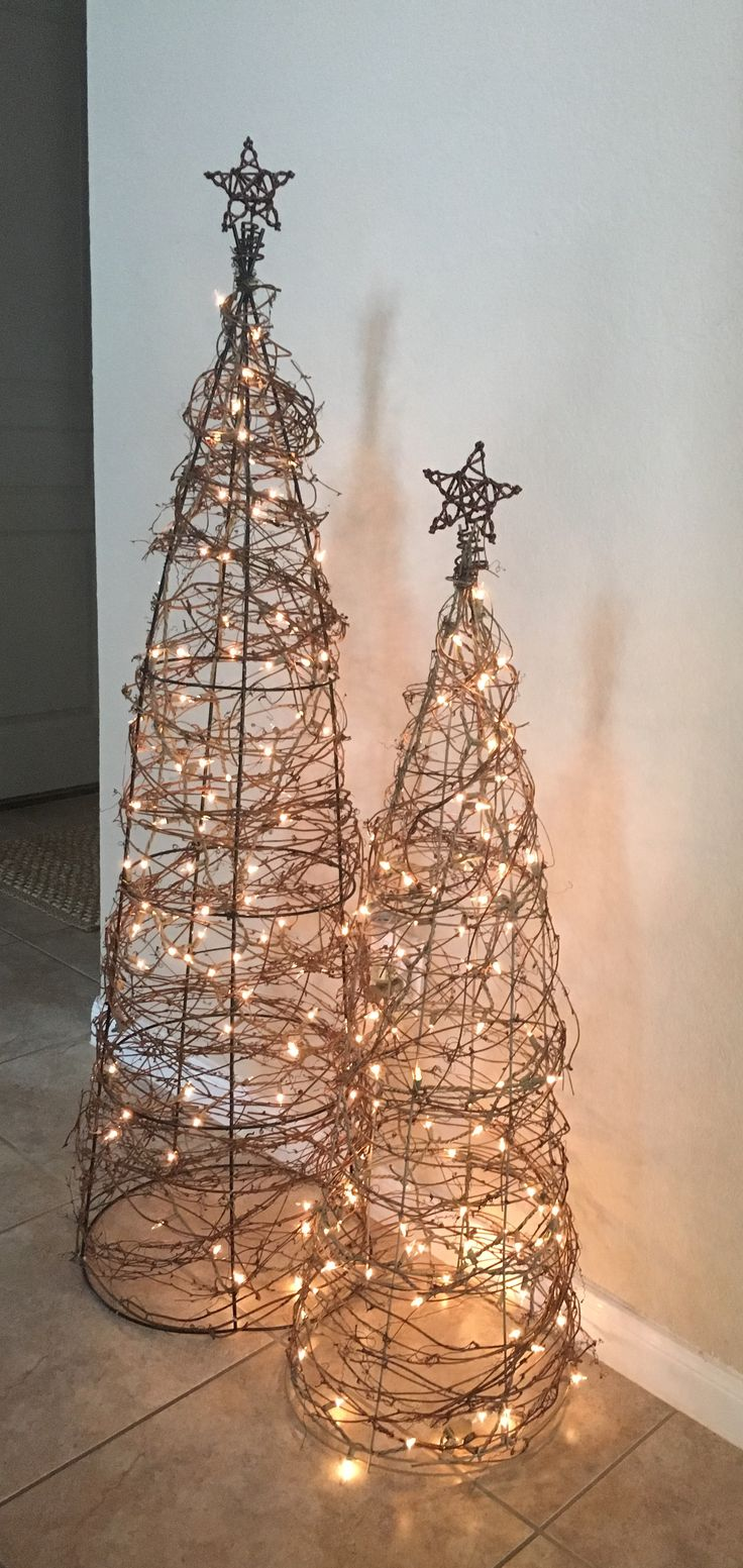 Diy tomato cage and vines trees