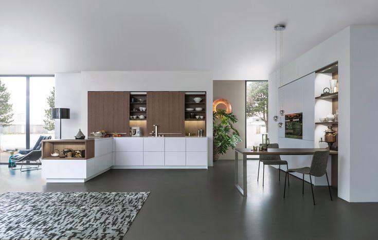 PUR-FS | TOPOS › Lacquer › Modern style › Kitchen › Kitchen | LEICHT – Modern…