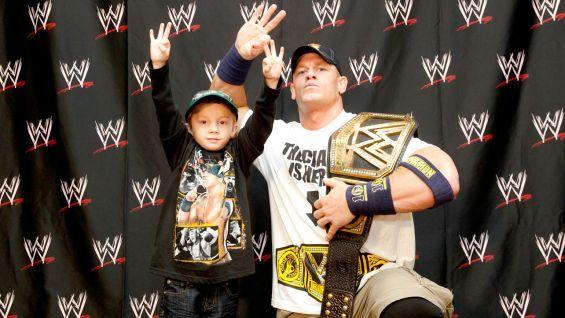 Circle of Champions: John Cena meets Isaiah and Juan: photos #WWE