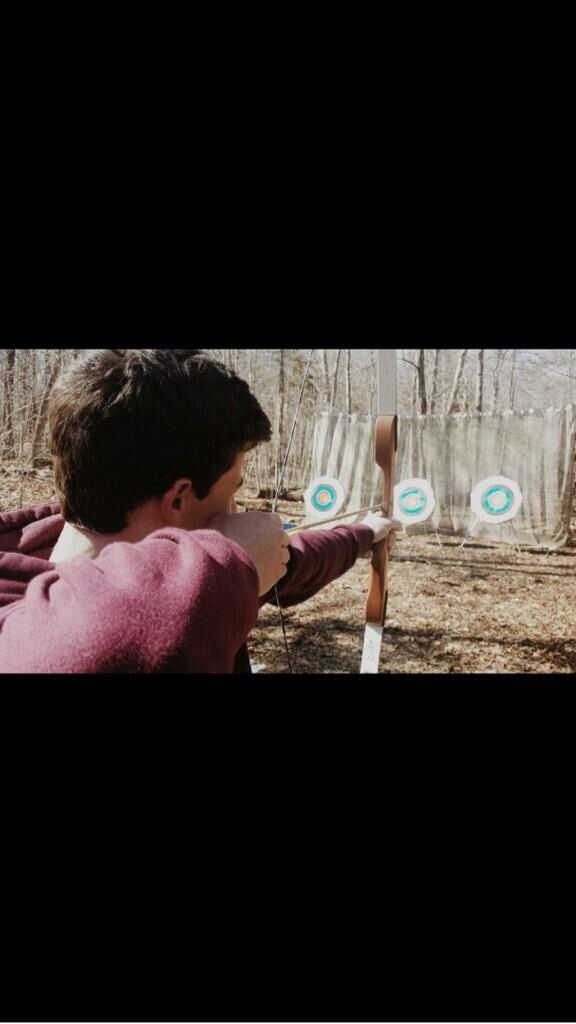 The fact that Shawn can be an archer just makes him hotter.