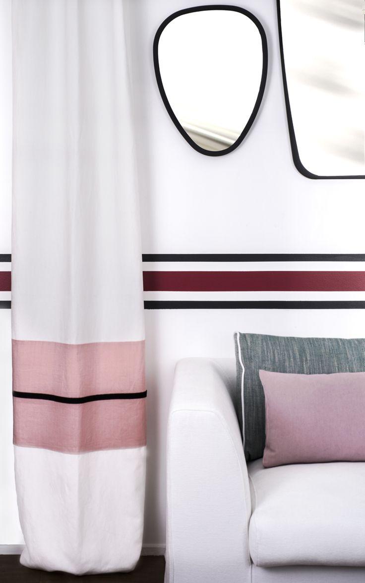 Deco Salon Blanc Chic :  ©es sur le thème rideaux de fenêtre de salle de bains sur