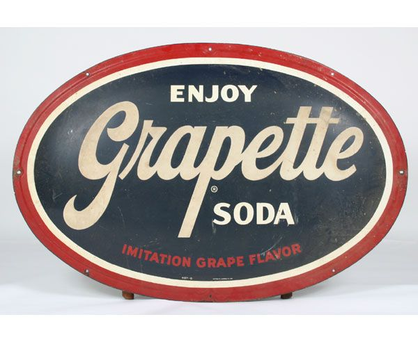 Enjoy Grapette Soda, my Dad was a Grapette delivery man when i was born in 1954!: Signs Drawers Junk Oh, Soda Signs, Advertising Boards, Grapette Soda, Classic Advertising, Porcelain Signs, Vintage Signs, Vintage Advertising Signs