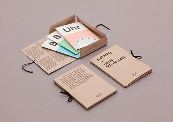 Packaging + plusieurs cartes postales qui présentent les differents compétences / services d'Amarantho