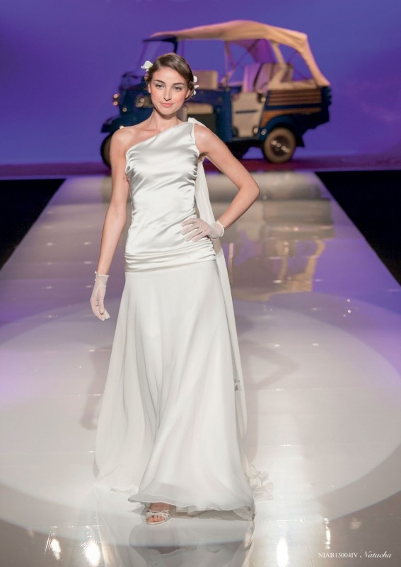 Collezione abiti da sposa #Nicole, abito da #sposa modello Natacha