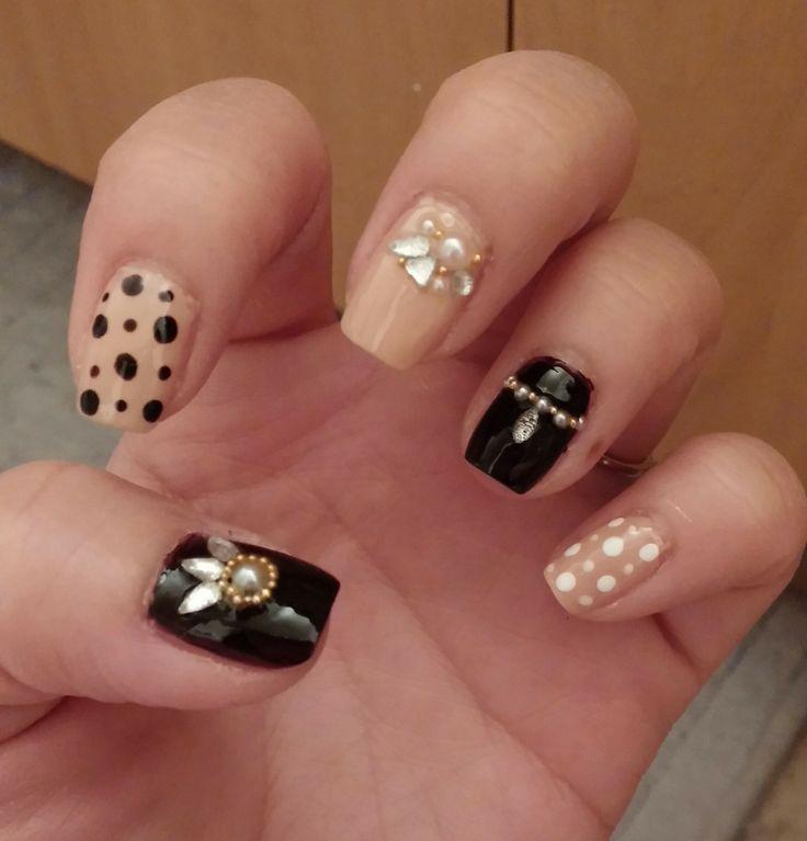 korean style nail art from pinterest imgur