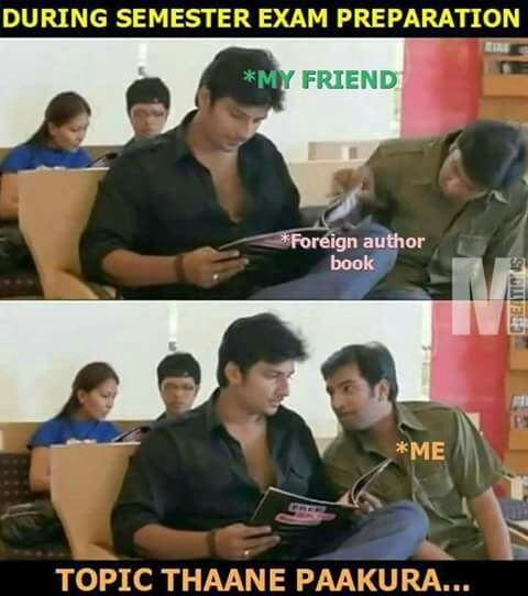 Semester Exam Memes Tamil Memes Memes Exams Memes Exam Time