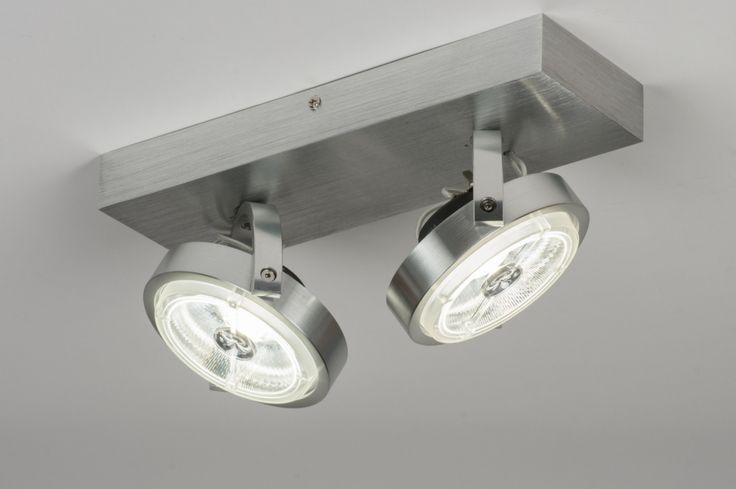 plafondlamp 30538: modern, design, aluminium, rond