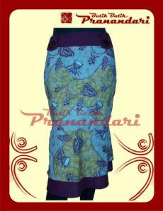 Rok Batik Variasi Katun Ima Marun