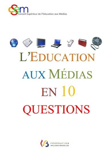 L'Éducation aux médias en 10 questions et réponses : guide avec activités