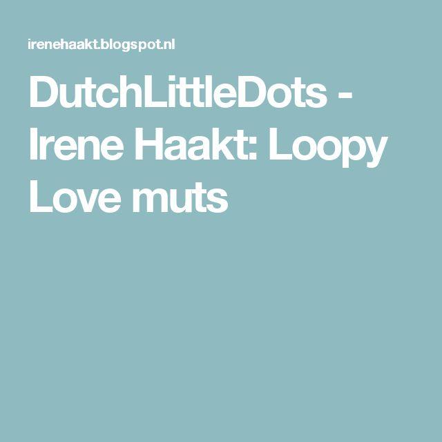 DutchLittleDots - Irene Haakt: Loopy Love muts