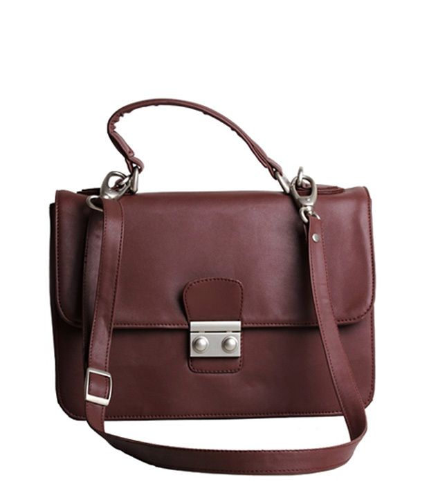 Adora Brown Cross Body Sling Bag, http://www.snapdeal.com/product/adora-brown-cross-body-sling/2107077487