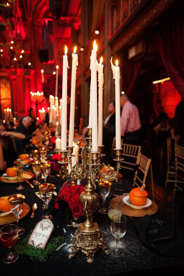 Gothic Inspired Reception Photo By Photo Pink Nyc