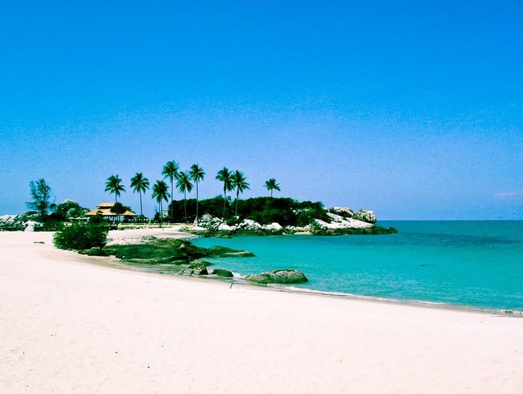 parai beach at bangka island. Used to go there every other holiday with family.. Wonder if it still looks like this.