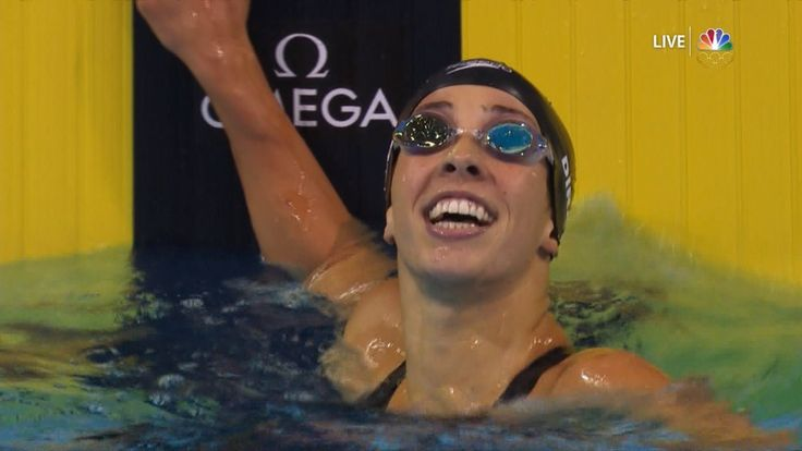 Olympic Swimming Trials | Maya Dirado Wins 200IM, Headed To Rio