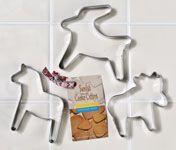 Scandinavian Cookie Cutters - Set of 3