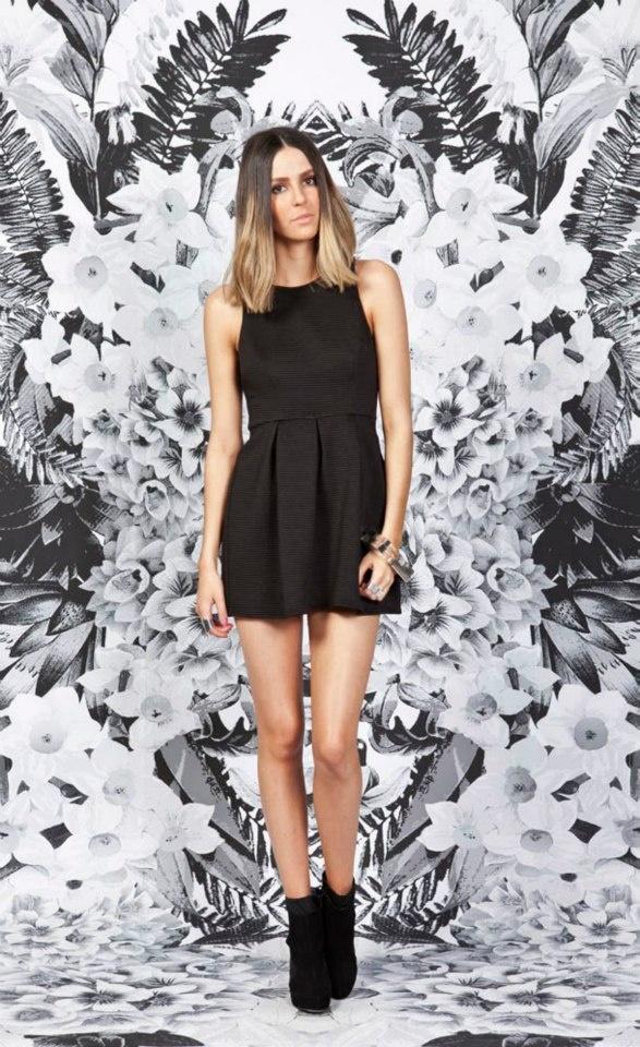 Distant Dreamer Dress, Black