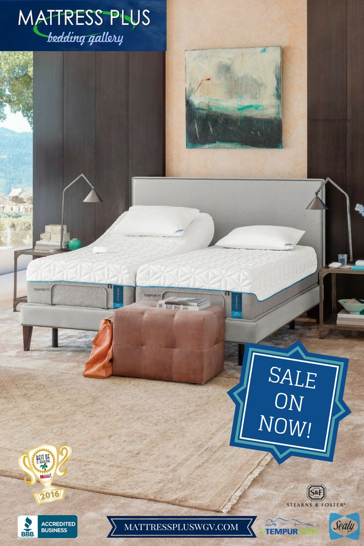 TempurPedic, Stearns&Foster and Sealy Mattress Sale on