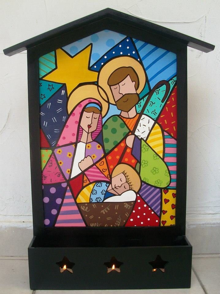 Country madera britto nativity