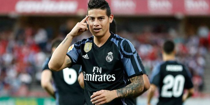 Milan Bid For Real Madrid's James Rodriguez Accepted