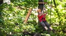 Treetop Trekking ups the excitement with family-friendly treehouses and a new adrenaline-pumping jump