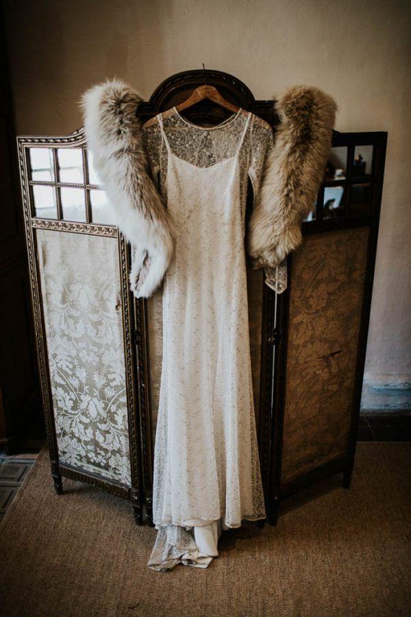 Ethereal and Dark Winter Wedding Inspiration