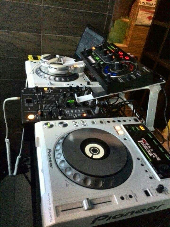 tisch für dj equipment