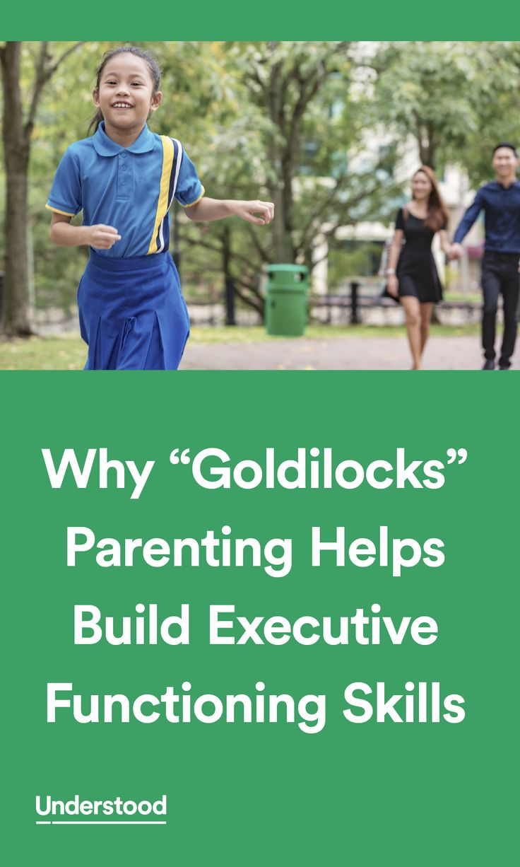 """Increasingly, researchers are discovering that """"just right"""" is an important concept for how we parent. It has to do with how kids develop executive functioning."""
