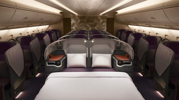 Singapore Airlines a380 new First Class Business Class SQ Sydney (1)