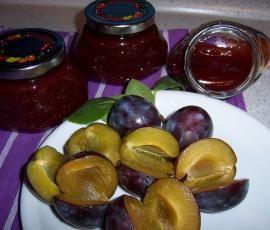 Rezept Pflaumenmarmelade mit Zimt von Carcassi - Rezept der Kategorie Saucen/Dips/Brotaufstriche