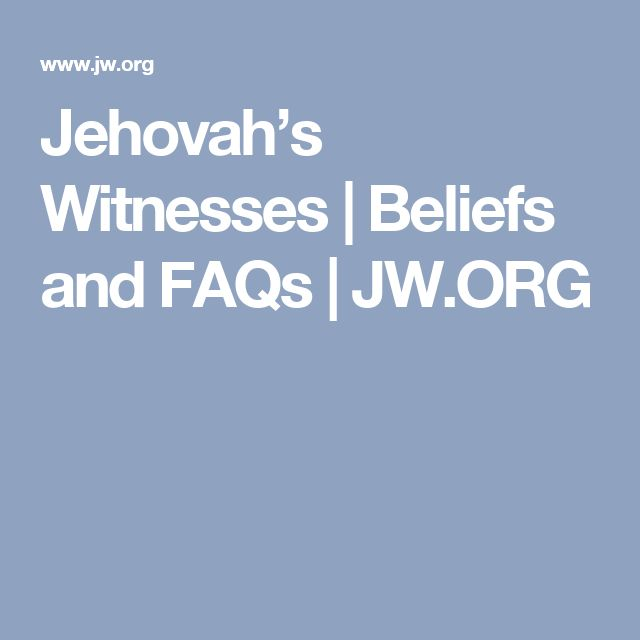 "three dissertations on the teachings of jehovah witnesses 3 creature and not divine, as with jehovah's witnesses), and tritheism (there are three distinct gods, as in mormonism and hinduism)""2 modalism one of the primary heresies that sought to assail the biblical doctrine of the trinity was modalism the central tenet of modalism is that god has made himself known in three."