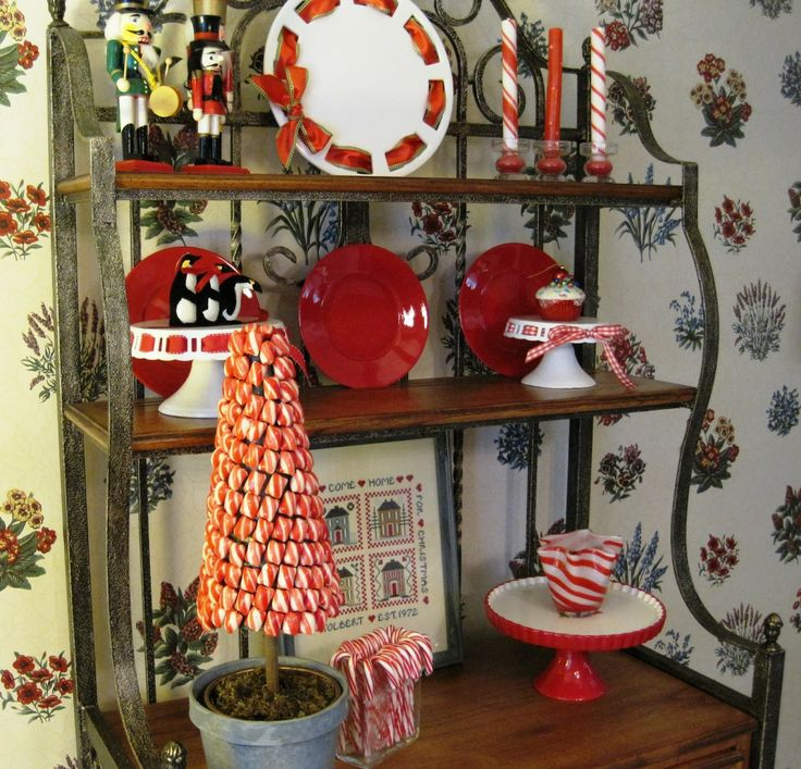 Top 40 Holiday Decoration Ideas For Kitchen: 1000+ Images About Bakers Rack/etagere On Pinterest