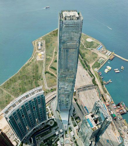 International Commerce Centre  Architect: Kohn Pedersen Fox  Hong Kong, Kowloon