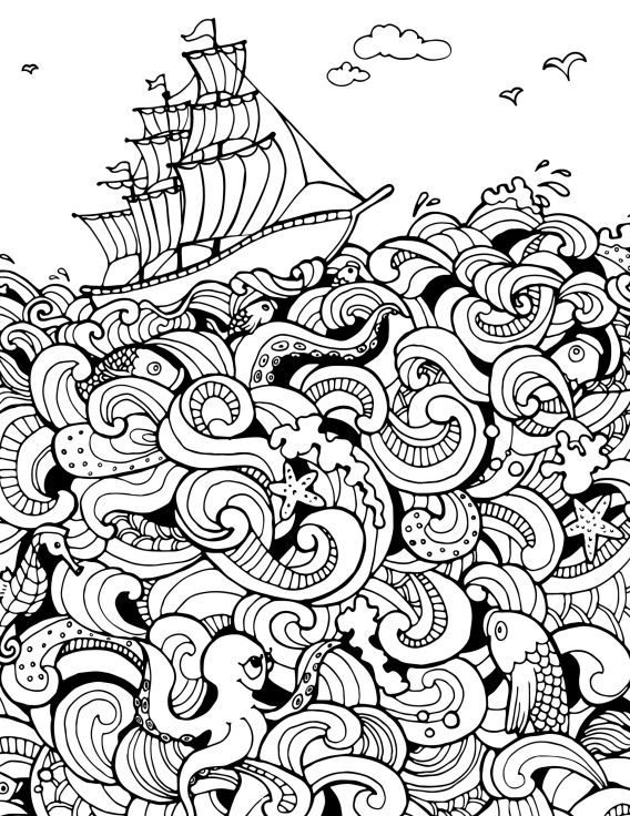 1491 best Coloring Pages images on Pinterest | Coloring books ...