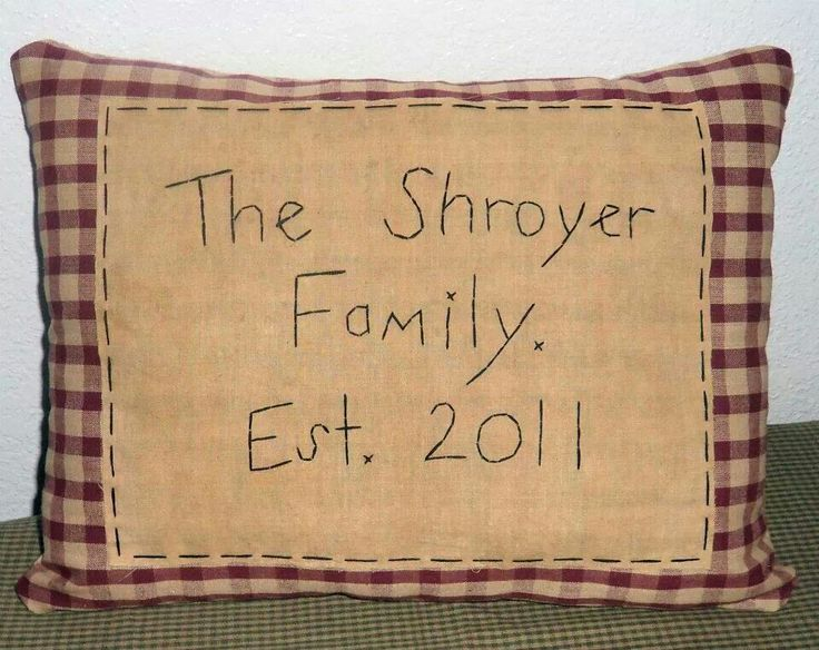 Decorative Primitive Pillows : 11 best images about Primitive Style Pillows on Pinterest Cute pillows, Victorian and ...