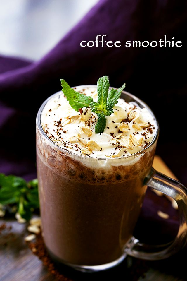 Coffee Smoothie- The perfect way to start your morning with coffee, oats, flaxseeds and bananas, all in one! Combining our two morning loves, coffees and smoothies, for peopleon the go.