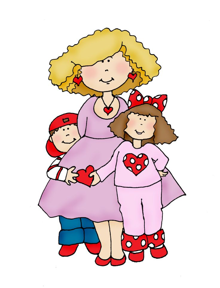 Free Dearie Dolls Digi Stamps: Valentines for Mom