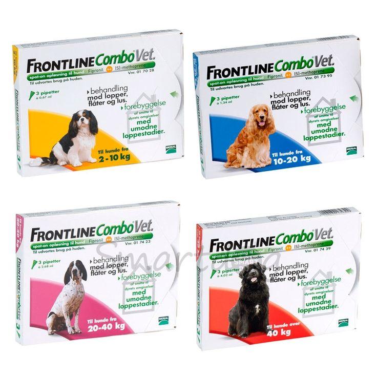 Frontline Combo Vet til hunde - Køb det billigt her!