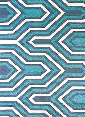 "United Weavers Contemporary Rectangle Area Rug 5'3""x7'2""…"