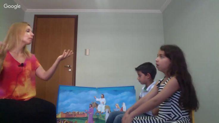 A entrada triunfal de Jesus em Jerusalém - Escolinha Advertência Final