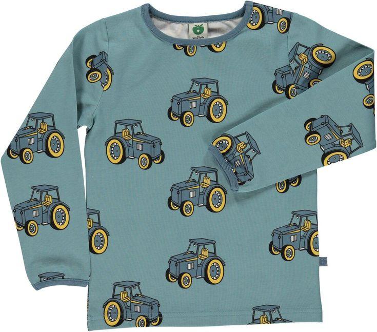 Que votre garçon soit grand ou petit, rêveur ou aventurier, ce t-shirt manches longues de la marque danoise Smafolk est fait pour lui! Les tracteurs Smafolk seront ses compagnons dans toutes les aventures. La qualité de l'imprimé et du tissu - nous sommes fan!  Certifié OEKO-Tex Votre garçon grandit? Retournez à Lootz les vêtements devenus trop petits et bénéficier de 15% de réduction sur votre prochaine commande! And Twist Again! La mode responsable dans la garde-robe de votre enfant!