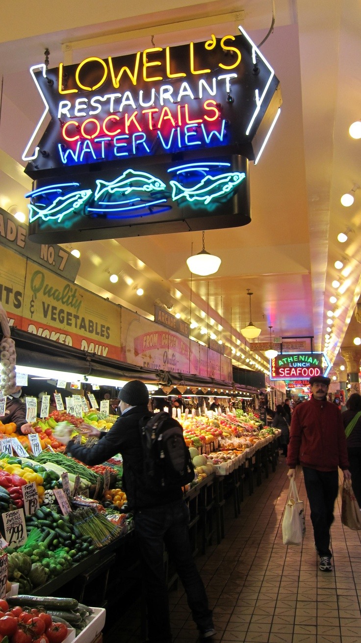 Public Market in Seattle WA and Yes they