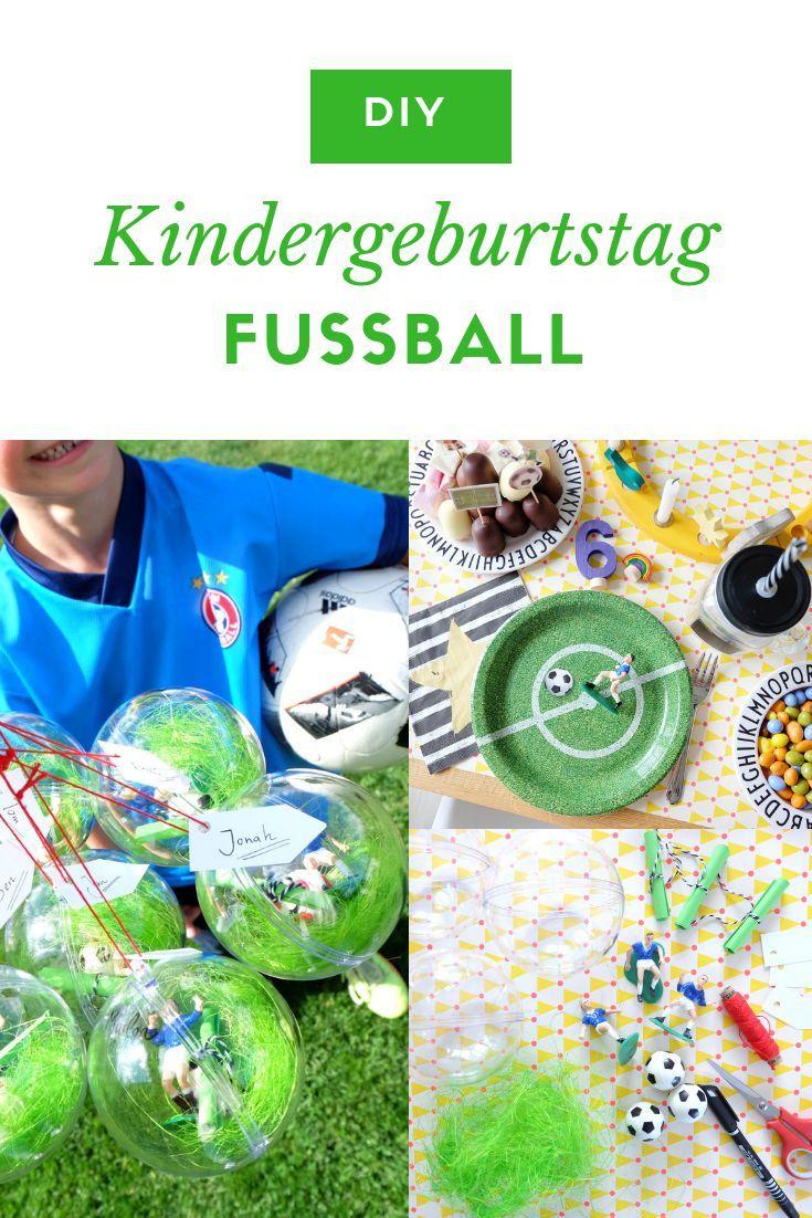Werbung Fussballgeburtstag Mottoparty Fur Kinder