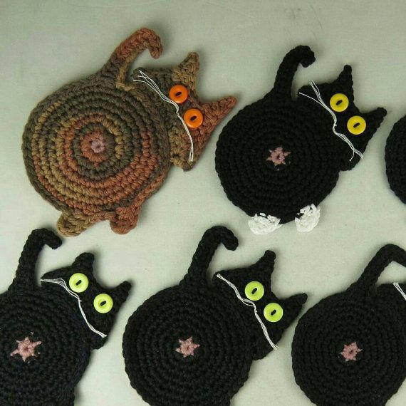 Crazy Cats! by Sophia Shaw on Etsy