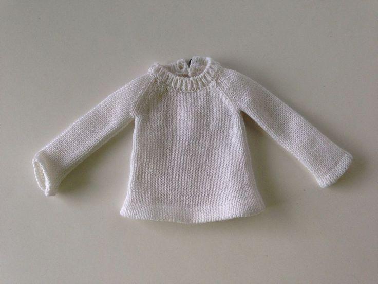 RARE Momoko knitted white shirt #Momoko