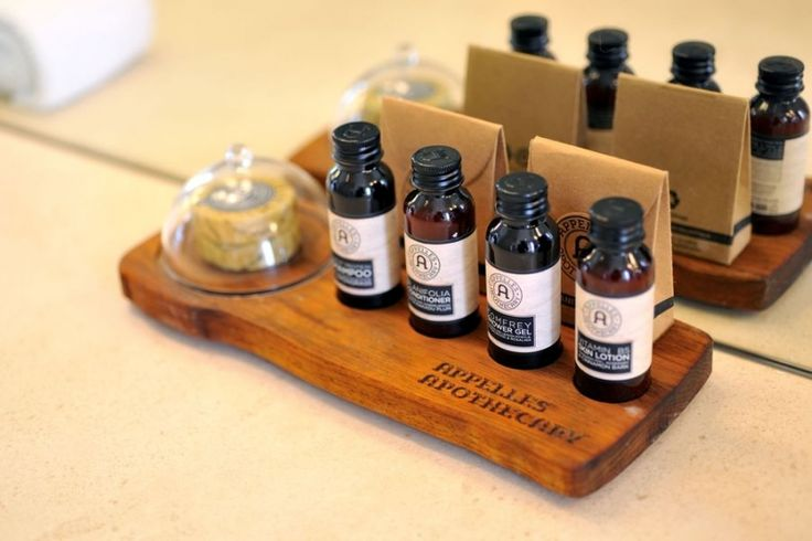 Appelles Apothecary Bathroom Amenities